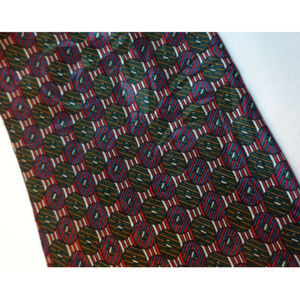 Vintage Accessories - Vintage 80s Woodward 100% Silk Tie 58 Inches